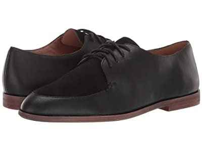 Madewell Alex Oxford (True Black Suede Mix) Women