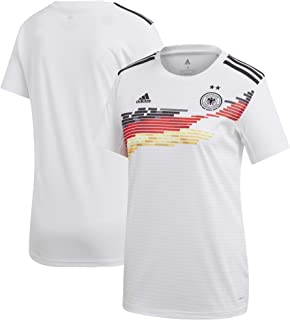 adidas Germany Women's National Team Women's 2019 Home Replica Jersey – White
