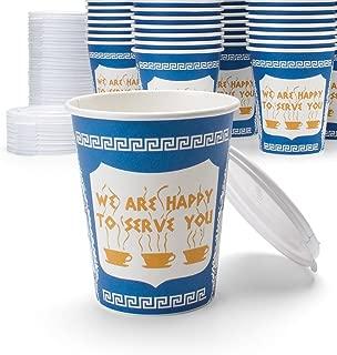 ceramic new york greek coffee cup