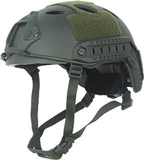 LOOGU Fast PJ Base Jump Military Helmet with 12-in-1 Headwear