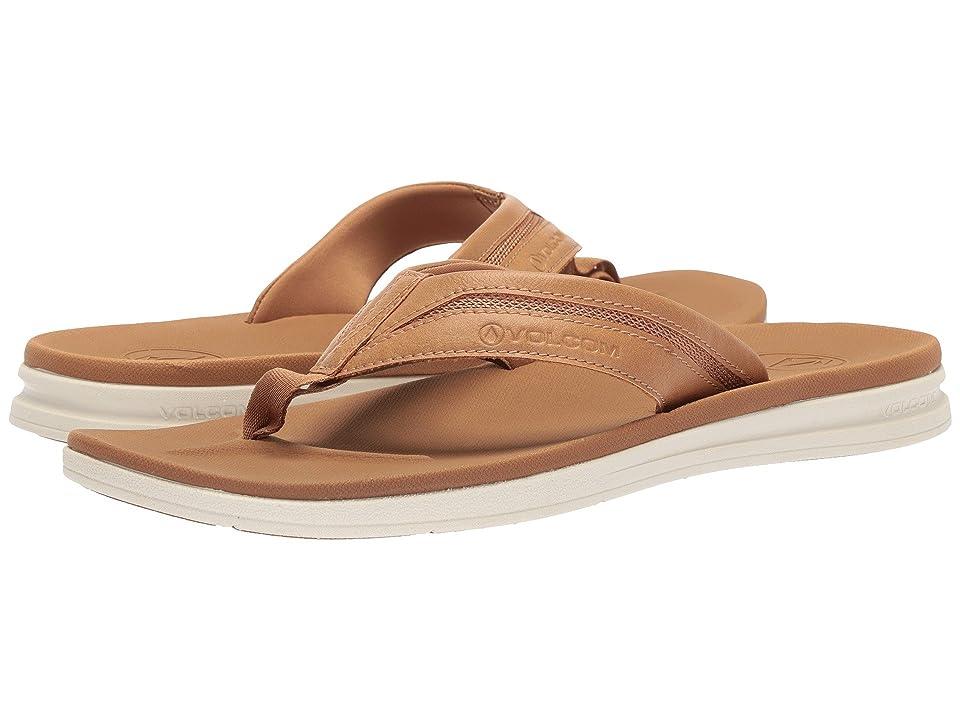 Volcom Draft Sandal (Chestnut Brown) Men