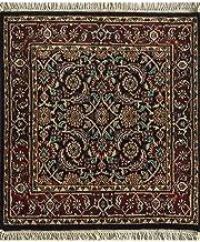 Jaipur Rugs Classic Blue 2'6X2'6 Feet Wool Oriental Rug and Carpet