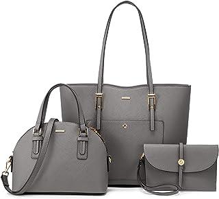 LOVEVOOK Handtasche Damen Shopper Schultertasche Umhängetasche Damen Geldbörse Tragetasche Groß Damen Tasche Tote für Büro...