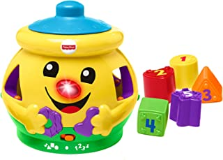 Fisher-Price H8179 Cookie Shape Surprise, Laugh and Learn Shape Sorter Baby Learning Toy with Numbers, Colours and Music, Suitable for 6 Months+ H8179 Multi