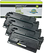 GREENCYCLE High Yield 14X CF214X BK Toner Cartridge Replacement Compatible for HP Laserjet Enterprise 700 M712dn M712n M712xh MFP M725dn MFP M725f MFP M725z MFP M725z+ Laser Printers (Black,3 Pack)