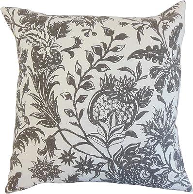 Amazon.com: La almohada Collection uvatera Damasco Cobalto ...