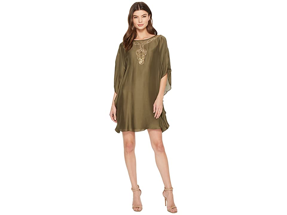 Trina Turk Anissa 2 Dress (Olive) Women