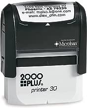 2000 plus printer 30 custom stamp