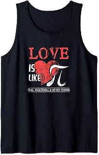 Love Is Like Pi - Pi Day Math Teacher Tank Top