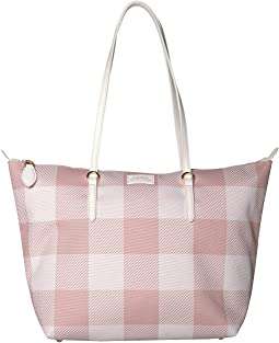 Mellow Pink Gingham