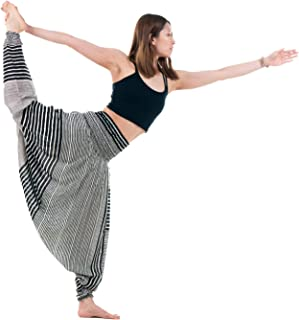 Harem Pants Women's Hippie Bohemian Yoga Pants One Size