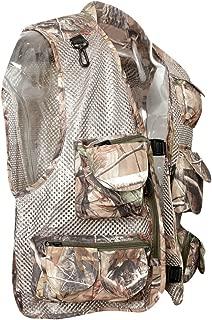 Perfeclan Outdoor Sports Fishing Vest Waistcoat Jacket Waterproof Mesh Vest Camouflage