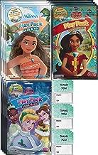 Disney Princess Grab n Go Play Packs (12 Pack) Party Favors Disney Princess, Moana, Elena of Avalor, Aurora, Belle, Tiana, Cinderella, Jasmine. and and 12