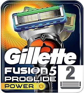 Gillette Fusion ProGlide Power Men's Razor Blades, 2 Refills