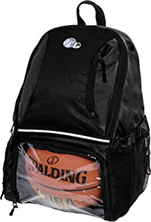 Basketball Backpack - Large School Sports Bag w/ Ball Compartment