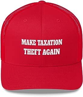 Make Taxation Theft Again Retro Trucker Cap Red/White