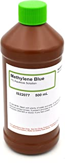1% Aqueous Methylene Blue, 500mL - The Curated Chemical Collection