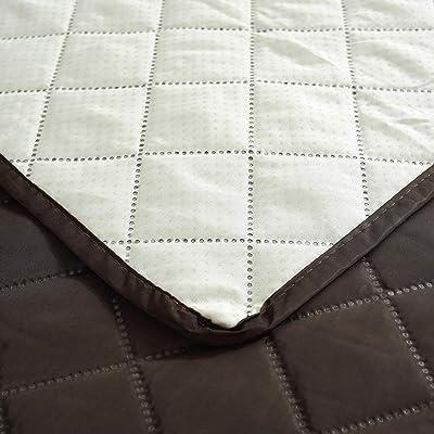 Cabetex Home - Cubre sofá Reversible Bicolor con ajustes ...