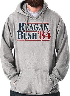 Ronald Reagan George Bush 84 Election POTUS Hoodie