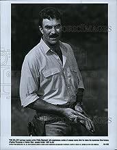 Historic Images 1989 Press Photo Tom Selleck Actor Movie Paulina Porizkova Her Alibi