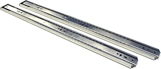 Berta, Full Extension, Push to Open, Ball Bearing, 24 Inch 100Lb Load Rating, Side Mount Drawer Slides (15 Pairs)