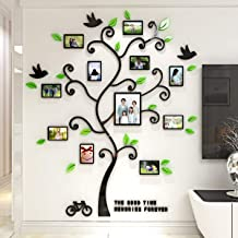 Tree muurstickers, Family Hope Tree of Life 3D muurdecoratie Photo Frame Acryl Decorative Wall Sticker kunst aan de muur, ...