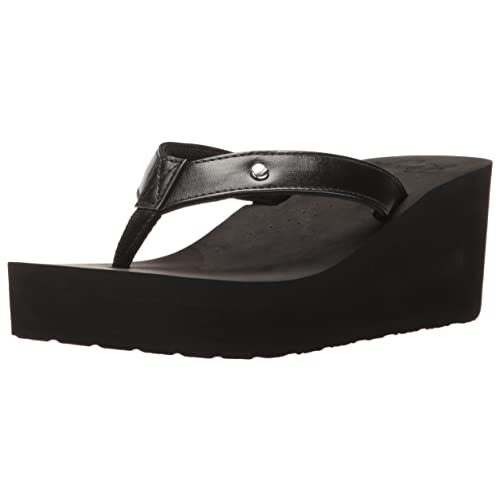 24c0b202d875a8 Roxy Women s Mellie Wedge Sandal