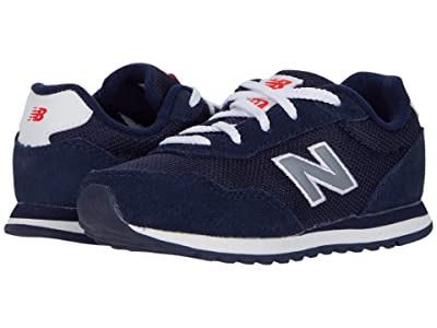 New Balance Kids 527 (Infant/Toddler) (Pigment/Gunmetal) Boy
