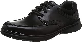 Clarks Cotrell Edge Casual & Dress Shoe For Men, Black, Size 41.5 EU