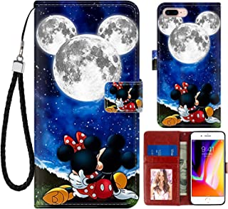 DISNEY COLLECTION Wallet Case for iPhone 7/8 Plus 5.5
