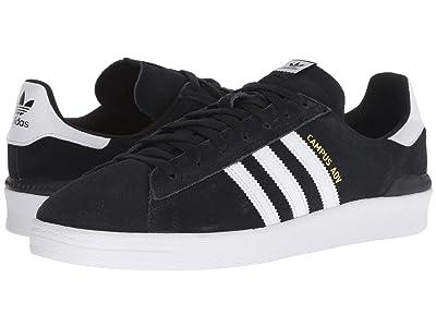 adidas Skateboarding Campus ADV (Black/White/White) Men