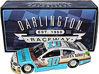 AUTOGRAPHED 2016 Danica Patrick #10 Natures Bakery Racing RETRO DARLINGTON THROWBACK (Stewart-Haas Team) Signed Lionel Collectibles 1/24 NASCAR Diecast Car with COA (#072 of only 709 produced!)