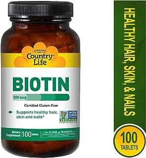 country life biotin 5 mg