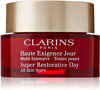 Clarins Super Restorative Day Cream Nourishing Anti-Aging Moisturizer for All Skin Type, 1.7 Ounce