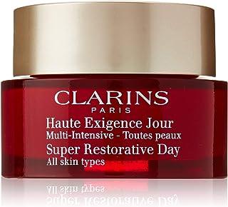Clarins Super Restorative Day Cream Nourishing Anti-Aging Moisturizer for All Skin Type, 1.7 Ounce