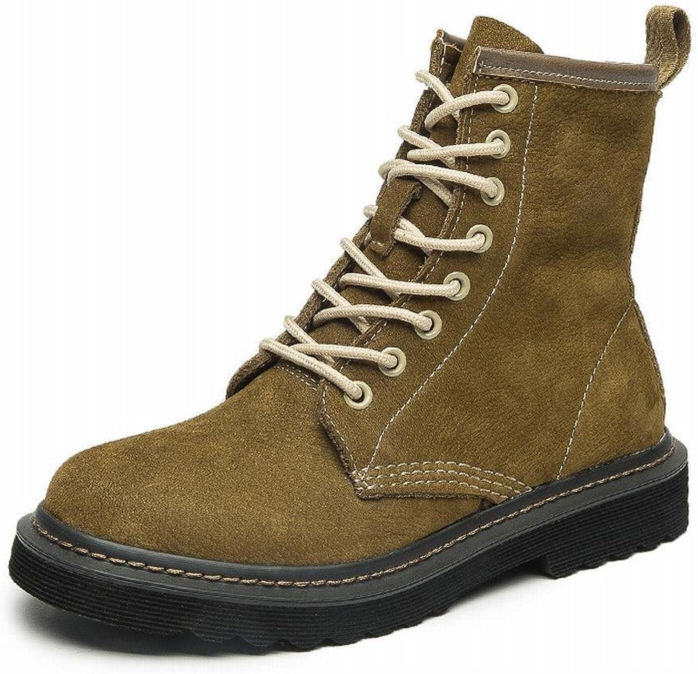 DXD Herbst und Winter Damenschuhe, Damenschuhe, Stiefel, Stiefel, Britische Martin Stiefel, Damenmode Spitze mit Dicken Flut Stiefel