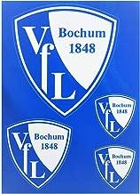 VfL Bochum 1848 Mini-Boxhandschuhe f/ür die Autoscheibe mit Saugnapf Spiegel Fenster Fu/ßball Fan-Artikel Geschenk-Idee