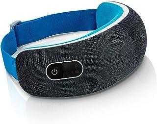 ماساژور برقی چشم هوشمند LifePro با استفاده از بلوتوث با فشرده سازی هوا با ارتعاش گرما - خستگی چشم ، میگرن ، دستگاه تسکین دهنده سردرد تنشی - ماساژور قابل تنظیم شارژ چشم درمانی