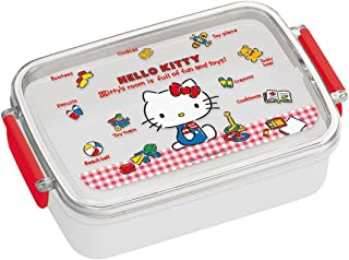 2fc1aacbb Skater Children's Lunch Box 450ml Hello Kitty Gingham Check Made in Japan  RB3 A