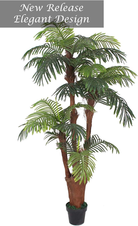 AMERIQUE Surprise price 5 popular Gorgeous Tech w Unique Feet 6 Palm Tropical