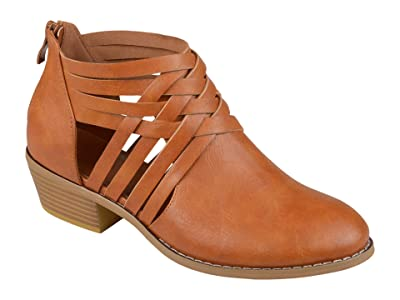 Journee Collection Thelma Bootie (Camel) Women