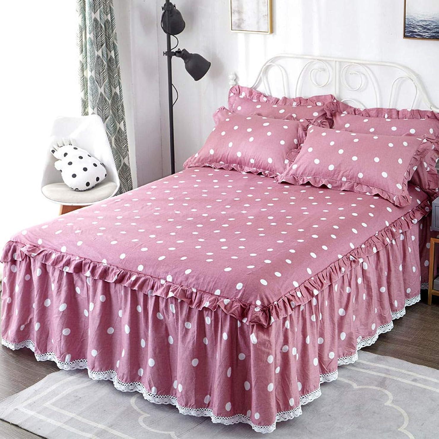 ぼんやりしたホストもっと少なくコットン ベッド スカート,ベッドスプレッド 女王 の の キング ほこり フリル ベッド スカートなし-スリップ ウルトラ-柔らかい プリーツ ドロップ-G-180×200センチメートル(71×79で)