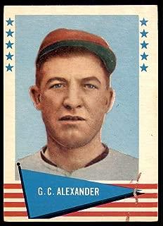 1961 Fleer #2 Grover Cleveland Alexander Very Good Phillies