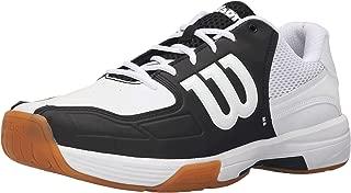 Recon Men's Indoor Court Shoe Black/white (11.5, White/Black)