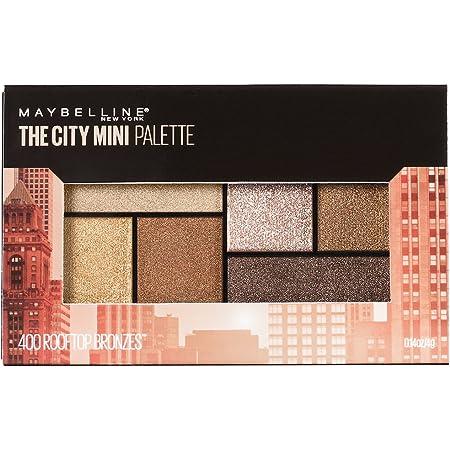 Maybelline New York Makeup The City Mini Eyeshadow Palette, Rooftop Bronzes Neutral Eyeshadow, 0.14 oz