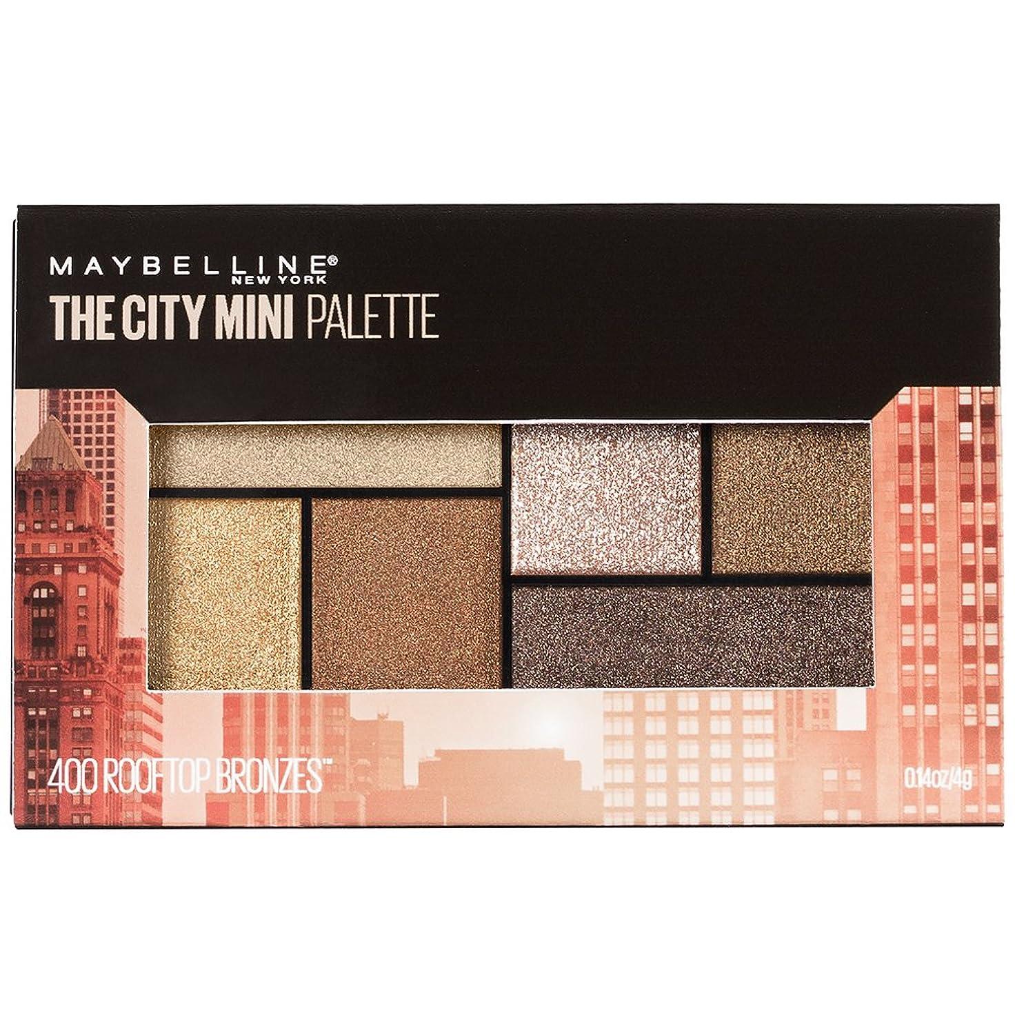 ナンセンス腰きらめくMAYBELLINE The City Mini Palette - Rooftop Bronzes (並行輸入品)