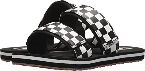 (Checkerboard) Black/Marshmallow