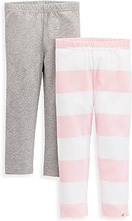 Burt's Bees Baby - Baby Girls Leggings, Infant & Toddler Bottoms, 100% Organic Cotton Pants