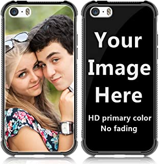 Shumei Custom Case iPhone 5 or 5S Glass Cover 4.0 inch Anti-Scratch Soft TPU Personalized Photo Make Your Own Picture Phone Cases