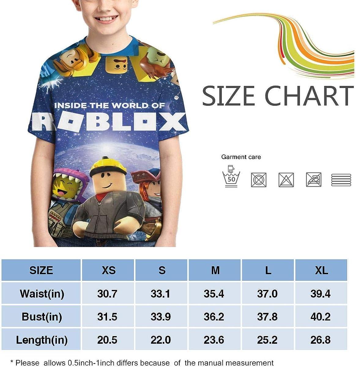 Ro-Blo-Xs Boys Shirts Kids Fashion T-Shirts Boys Girls Summer Tops
